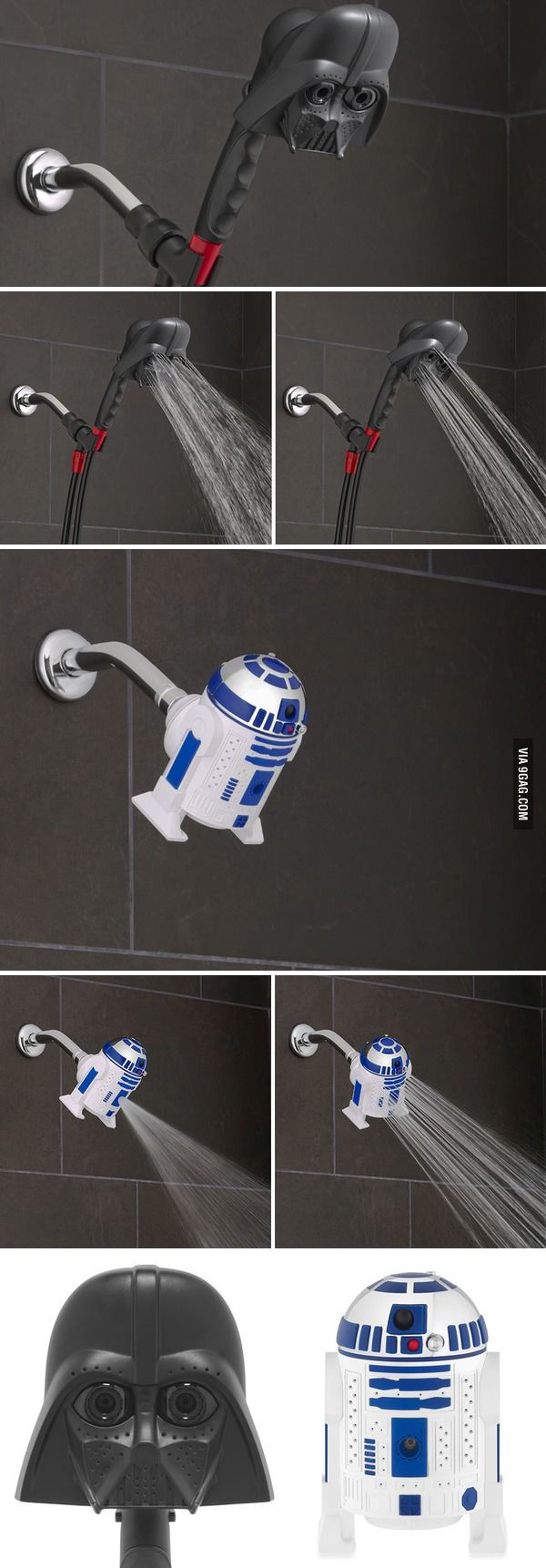 Star Wars Showerheads Will Let You Bathe In Vader's Tears - 9GAG