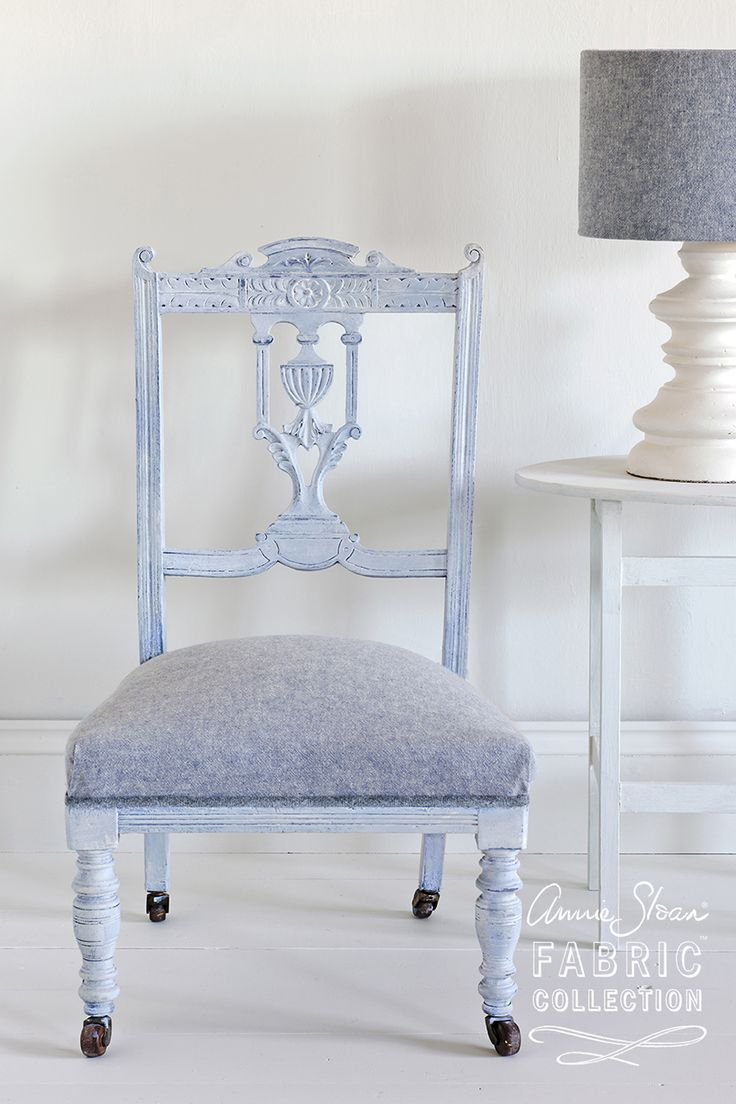 68 best annie sloan fabrics images on pinterest linen fabric dining room chairs upholstered with annie sloan coloured linen in old white old violet gumiabroncs Image collections