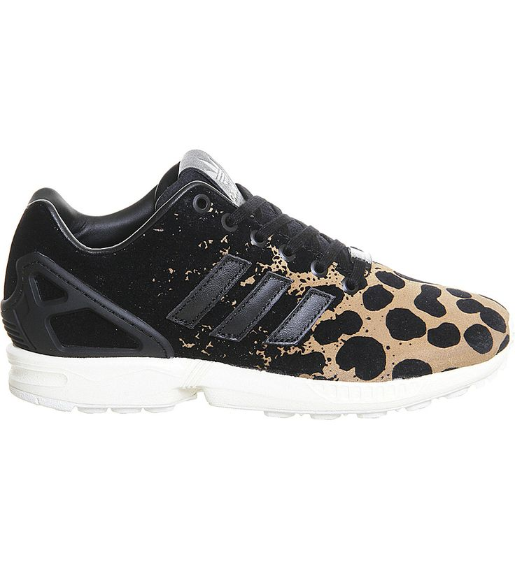 ZX Flux leopard-print trainers