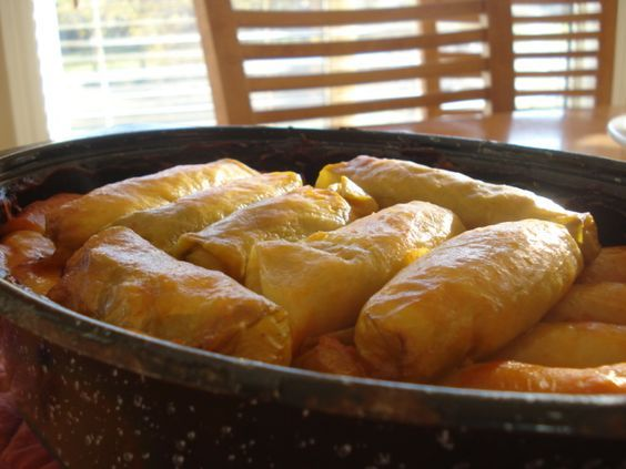 The Real Meal: Ukrainian Cabbage Roll Recipe - Rice Holubtsi