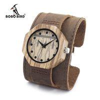 Bobo bird d04 друг окружающей среды древесины часы умный здравоохранения ручной работы, старинные деревянные женские мужские наручные часы в кач...