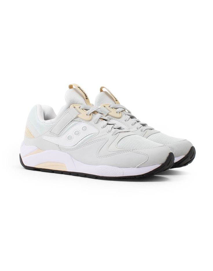 Saucony Grid 9000 Trainer Grey | Shop all men's shoes and clothing at The  Idle Man