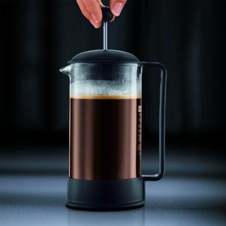 Bodum Brazil 8-Cup French Press Coffee Maker, 34-Ounce, Black http://french-press-coffeemaker.blogspot.com #bodumbrazil #frenchpress #coffeemaker
