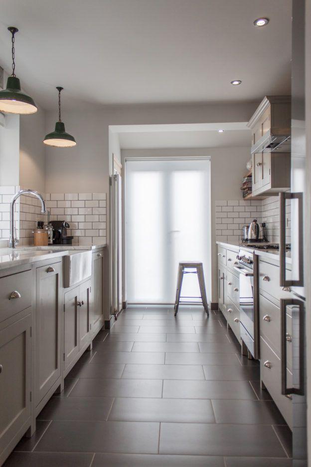 Gray Galley Kitchen