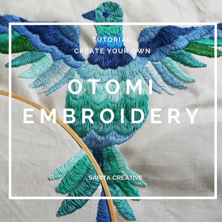 Recently we featured some beautiful Otomi Embroidery (check out this post) which got us really inspired. So today, I'm following up with a tutorial for this stitch, so that you can create your own Otomi Embroidery!   What is Otomi Embroidery? It looks like satin stitch but it's actually a super-narrow herringbone type stitch. For me, there are two main …