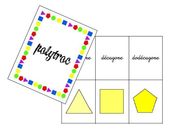 polytroc : un jeu de familles nouvelle version sur les polygones - jeuxdecole