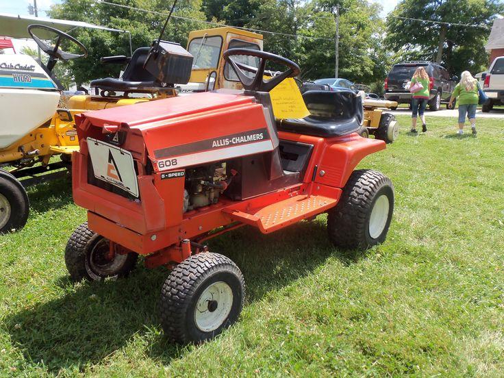 Allis Chalmers Garden Tractors : Allis chalmers ltd lawn tractor tractors