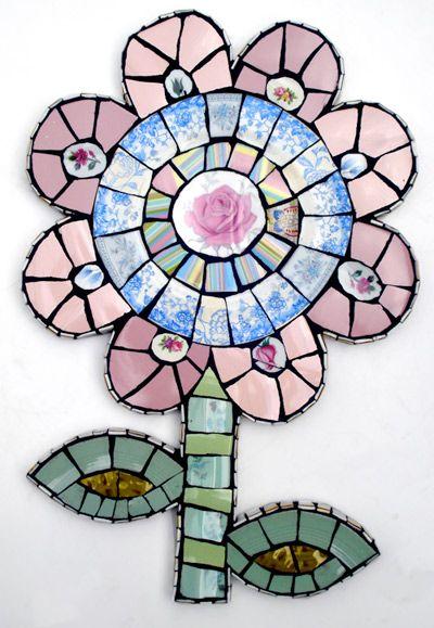 Anna Tilson: hand made vintage crockery mosaics.