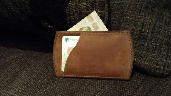 Check out this item in my Etsy shop https://www.etsy.com/nl/listing/247833779/leather-minimalist-cardholder-wallet