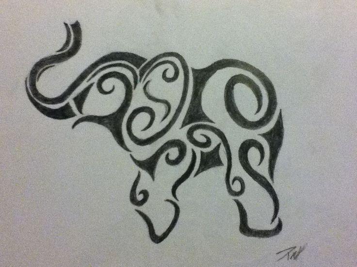 Migliori immagini elephant tattoos art su pinterest