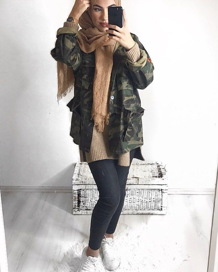 Camouflage jacke instagram