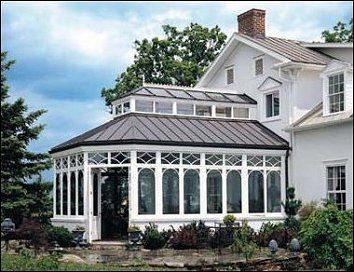 Conservatory Constructed To An Historic Victorian Farm House
