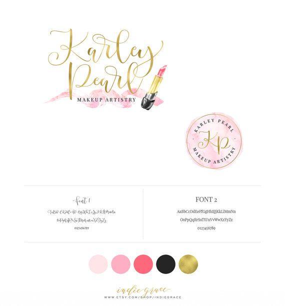 Estilo de caligrafía de diseño logotipo de la hoja por IndieGrace