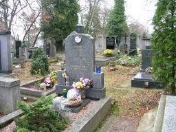 Esto es el cementerio de Zbraslav.