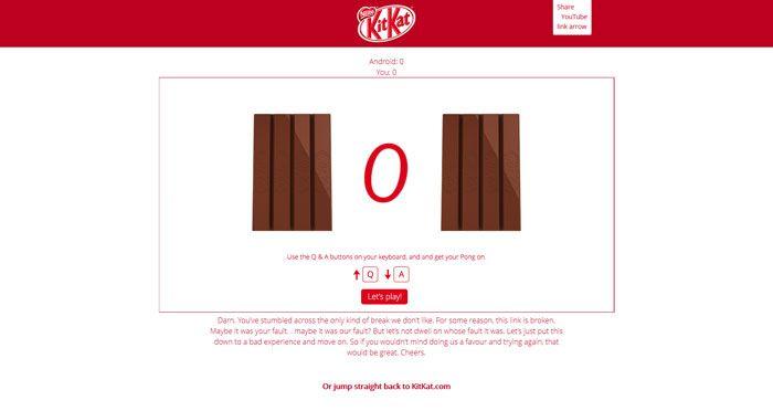 kitkat.com 404 error page