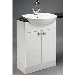 wickes vermont slimline vanity unit 600mm