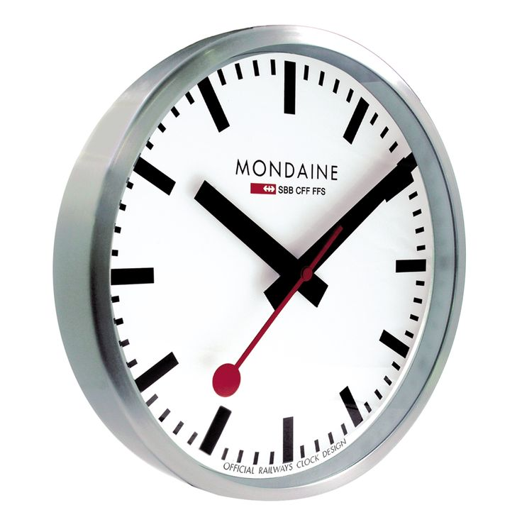 Useful and good looking: Mondaine the home and office accessory, stylish all in silver.