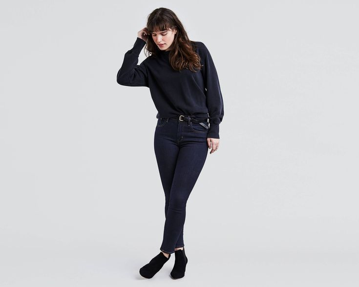 Levi's 721 High Rise in Lone Wolf