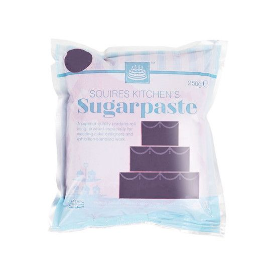 Squires Kitchen ready-to-roll Opera Violet Sugarpaste is the professionals' choice for a highly polished, soft and silky finish; made with only the finest ingredients, it has a delicate and natural vanilla flavour, giving a superior taste to your cakes and bakes.
