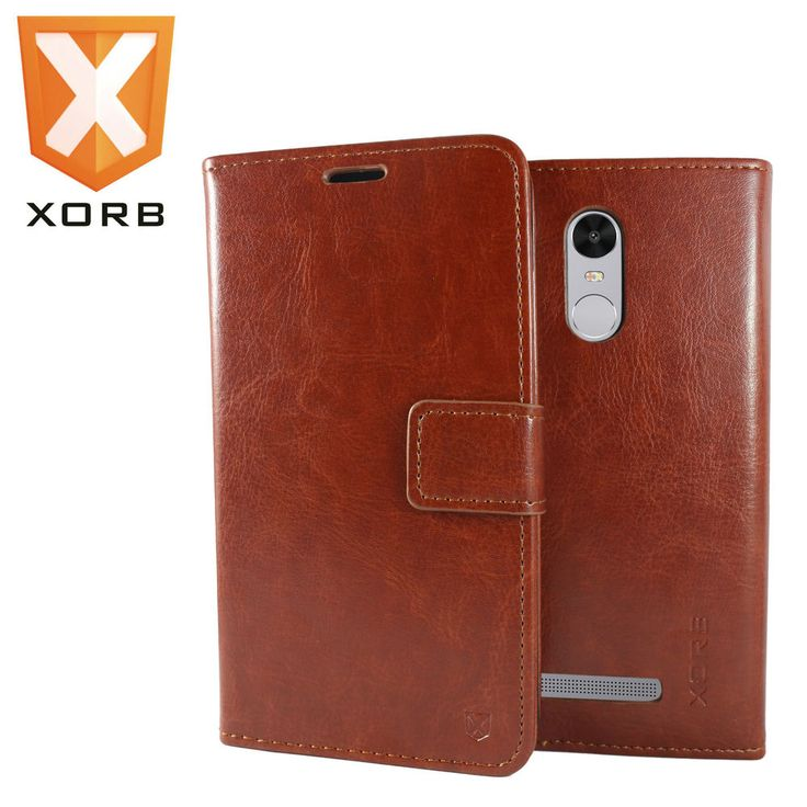 XORB™ Redmi Note 3 Flip Cover Leather Wallet Premium Back Case for Redmi Note 3