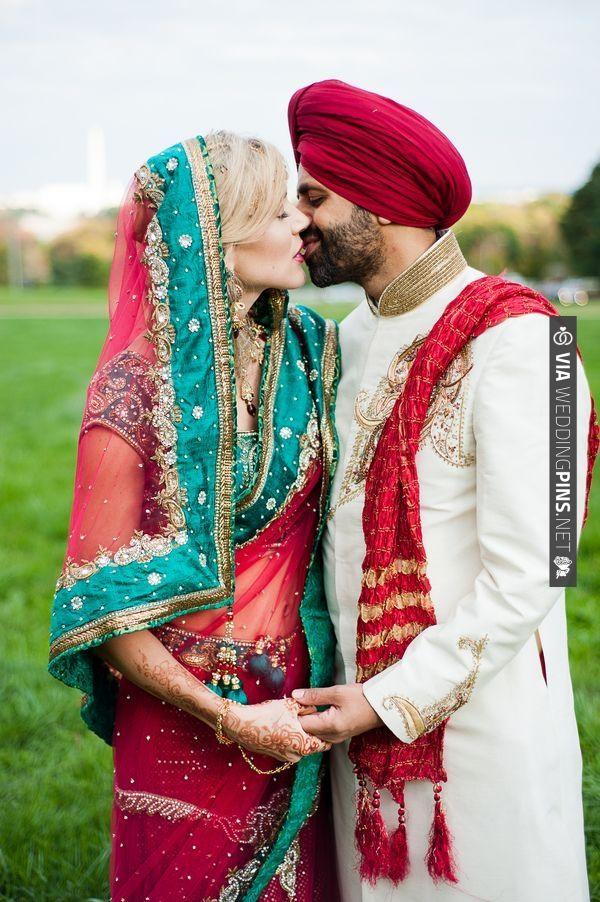 beautiful Sikh/Christian wedding | CHECK OUT MORE IDEAS AT WEDDINGPINS.NET | #weddings #weddinginspiration #inspirational