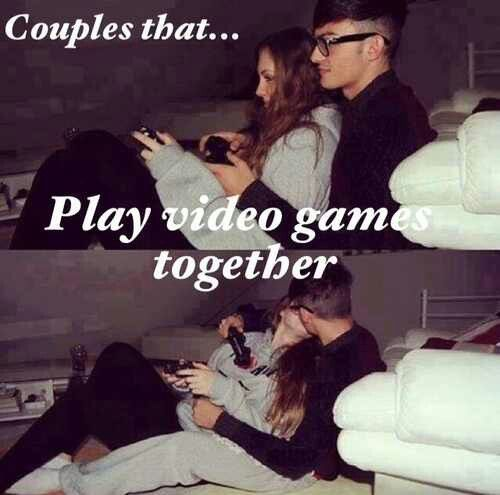 Cute Couples Playing Video Games Tumblr | www.imgkid.com ...