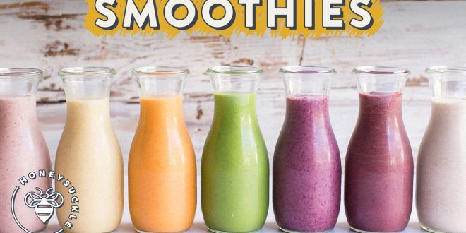 7 Healthy Life Changing SmoothieSmoothies are lovely to drink and can be so healthy for you, here are 7 different color smoothies that are life changing!  #SmoothiesRecipes #HealthySmoothies #HealthSmoothies