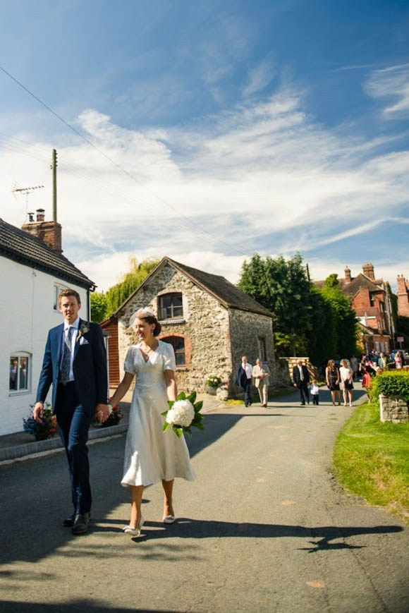 A 1940's Charity Shop Wedding Dress That Cost Just £30… | Love My Dress® UK Wedding Blog