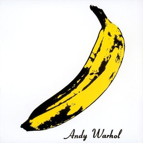 The Velvet Underground's 1967 debut LP, 'The Velvet Underground & Nico', designed by Andy Warhol