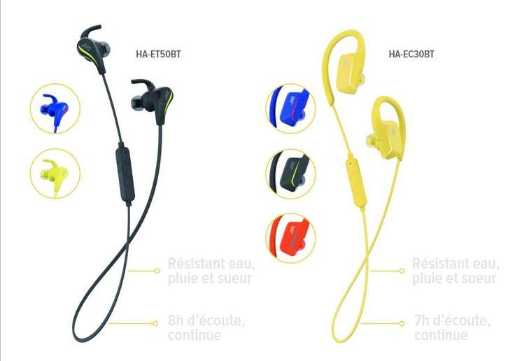 Le constructeur JVC s'est spécialisé dans la conception de casque audio filaire et sans fil. La marque annonce l'arrivée de deux nouvelles gammes d'écouteurs dédiés aux sportifs. Ces gammes «AE Wireless» se déclinent en HA-ET50BT et HA-EC30BT.  Le monde du sport et plus particulièrement celui... https://www.planet-sansfil.com/jvc-propose-ecouteurs-sportifs-ae-wireless/ AE Wireless, Audio - Vidéo, Bluetooth, écouteurs, HA-EC30BT, HA-ET50BT, JVC, sans fi