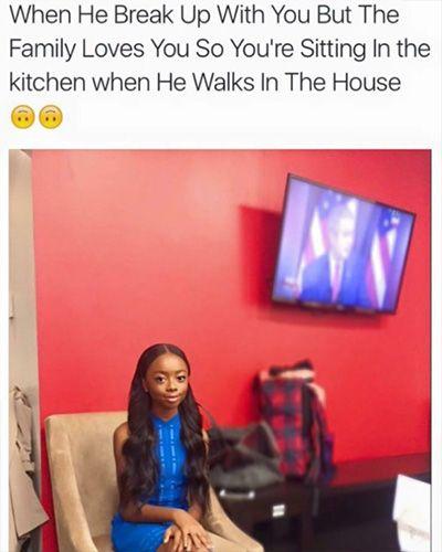 Black Girl Sitting Meme