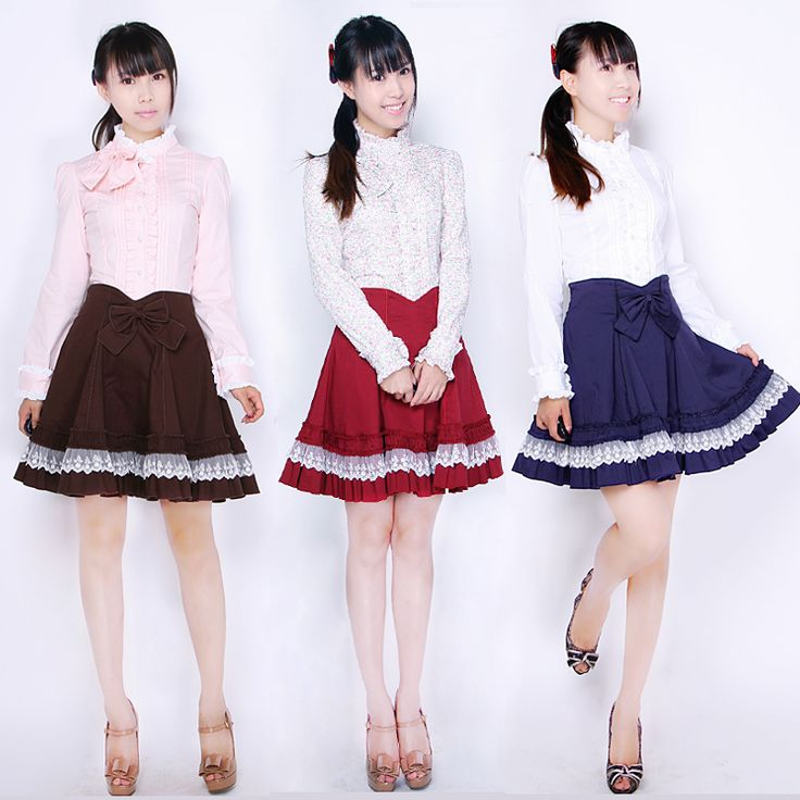 Princess Stamp Lolita Lolita French Elegant Advanced Customized High Pillow Puff Sleeve Shirt Multicolor