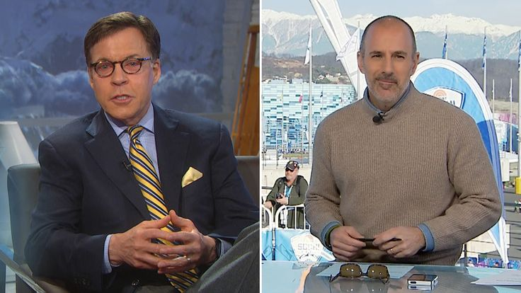 Bob Costas to Matt Lauer: 'You're coming out of the bullpen again tonight'