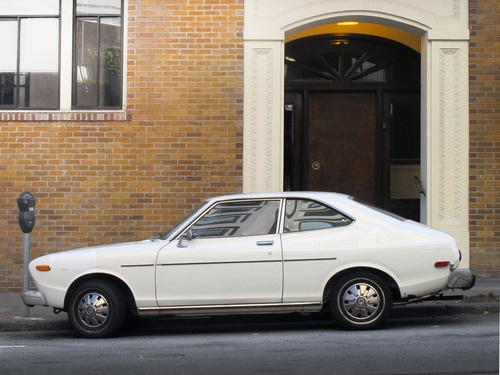 Datsun (710) | 1975 -Donna had one like this mine looked like a brown box
