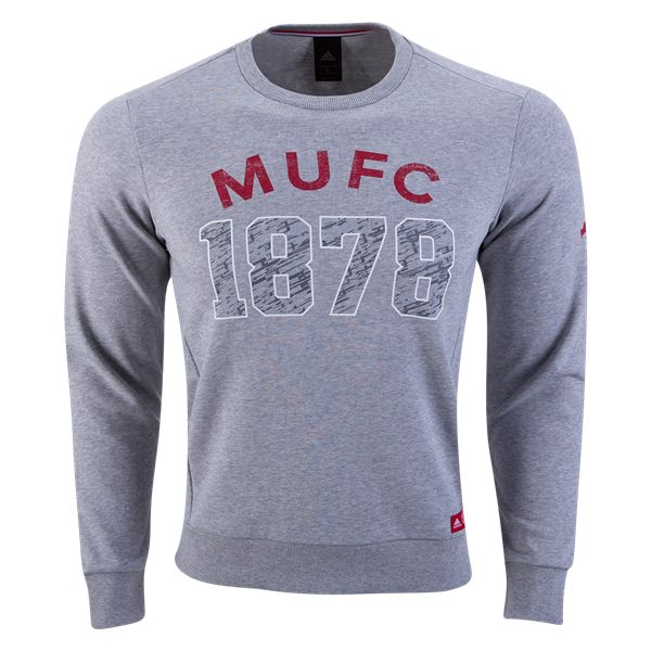 Manchester United Graphic Sweatshirt   | $59.99 | Holiday Gift & Stocking Stuffer ideas for the Manchester United FC fan at WorldSoccerShop.com