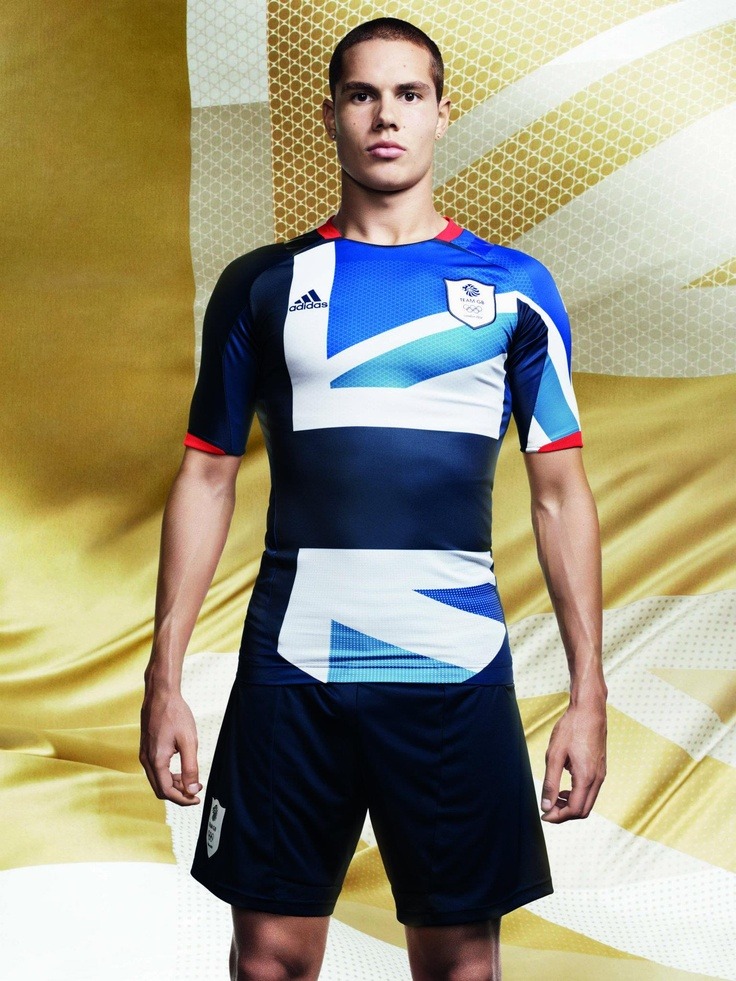 Jack Rodwell in the Team GB football jersey for the London Olympics 2012.