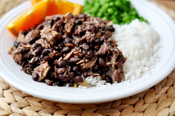 Mels Kitchen Cafe | Brazilian Feijoada {Slow Cooked Pork and Black Bean Stew}