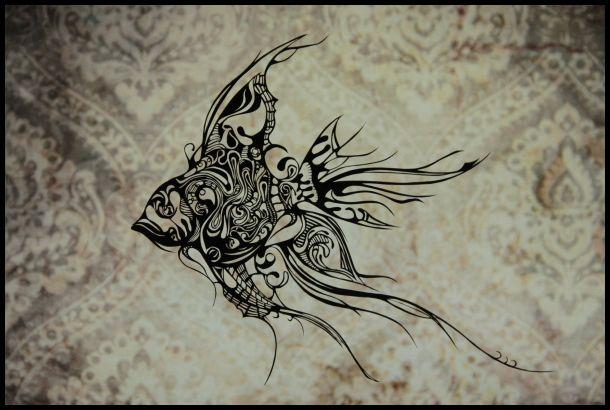 delight.lab 切り絵-金魚