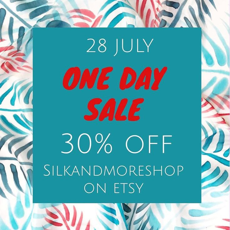 Happy birthday to me! 30% off to you! On 28 July in my Etsy shop and Paloma designer store use coupon code 30TOYOU. Link in bio. Sale ends at 12pm CET #onedaysale