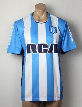 Racing Club 2016-17 Season Home Blue Soccer Jersey [F415]