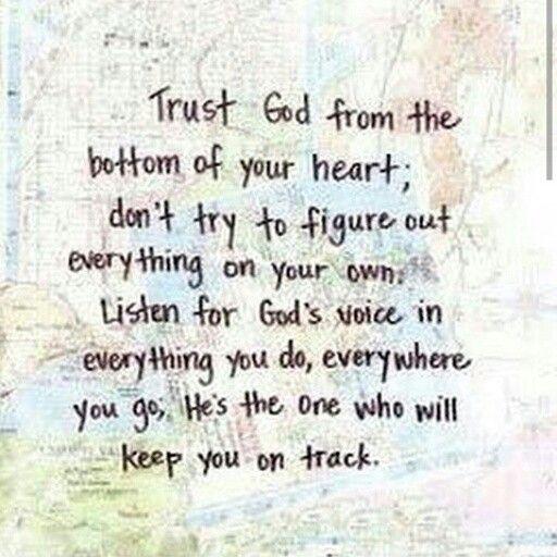 Good words!