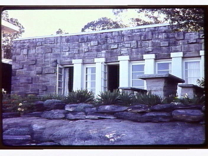 The Parapet. Castlecrag. NSW. Australia. Designed by Architect, Walter Burley Griffin and where he and his wife Marion lived for 10 years