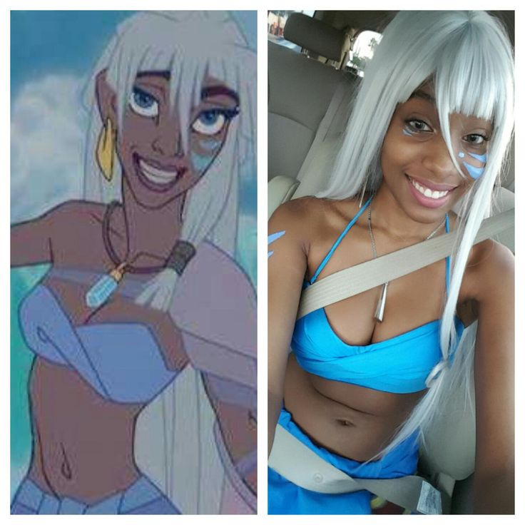 """"""" superheroesincolor: """" """"Welcome to Atlantis, . My Kida Cosplay """" Princess Kida, Atlantis: The Lost Empire (Submitted by violet-cosplays) Watch online or get the..."""