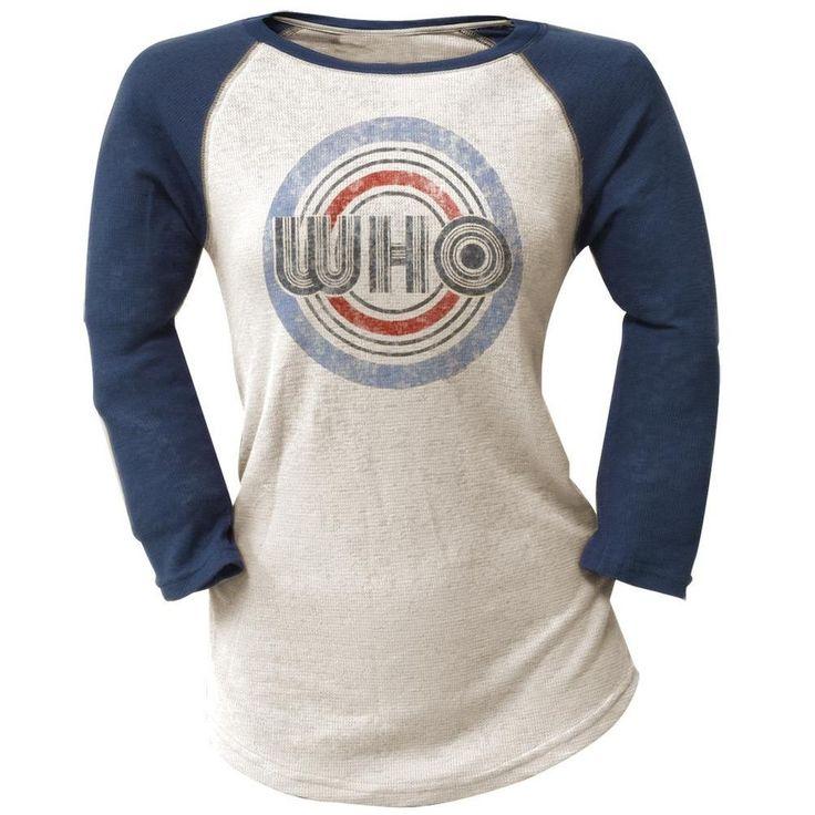 The Who - Target Juniors Raglan
