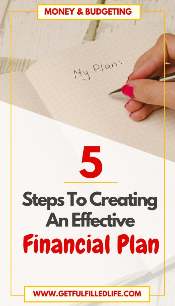 5 steps to creating an effective financial plan fulfilled life