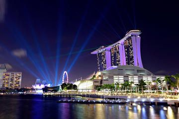 *Singapore Night Sightseeing Tour with Gardens by the Bay, Bumboat Ride and Bugis Street