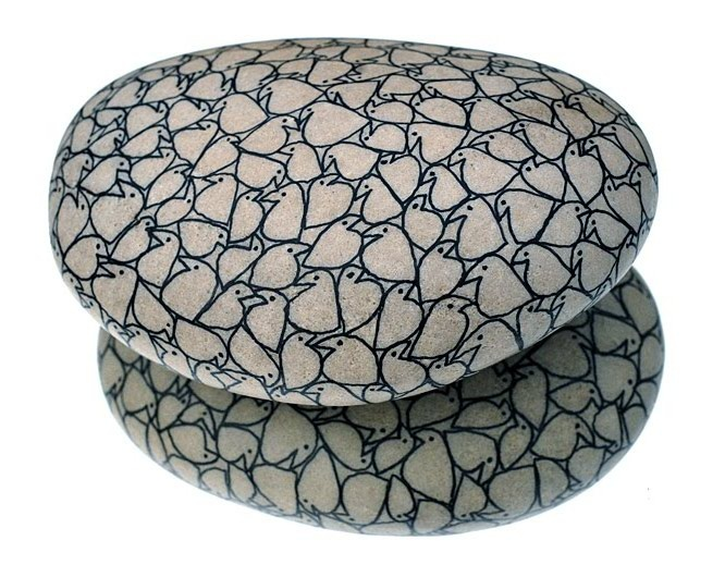 (2011-05) Bird stones - nice!