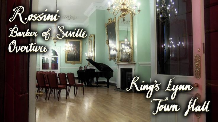 ROSSINI - BARBER OF SEVILLE OVERTURE - PIANO DUET - KING'S LYNN TOWN HALL