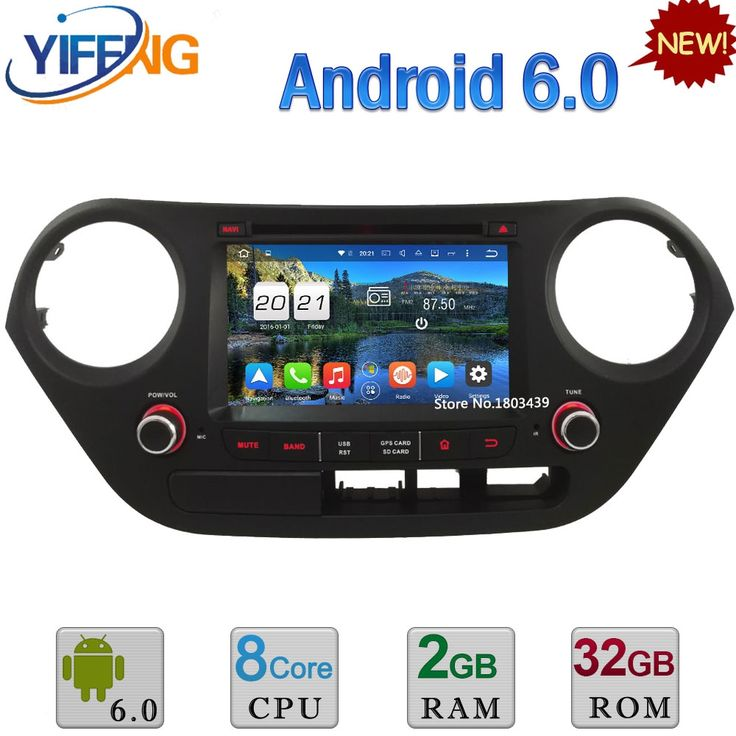 294.65$  Watch here - 3G4G Octa Core PX5 2GB RAM Android 6.0 DAB Car DVD Multimedia Player Radio Stereo GPS For Hyundai I10 LHD 2014 2015 2016 2017   #buyonlinewebsite