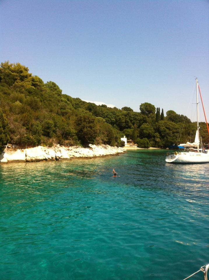 Ionion Sea, Skorpios island, owned by Aristoteles Onassis' grand-daughter.   http://www.facebook.com/mesotherapia